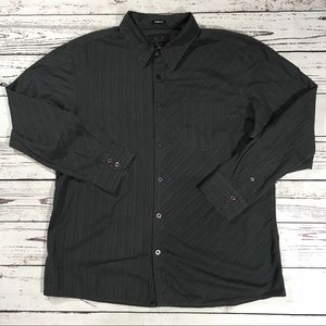 Oakley long sleeve button up shirt